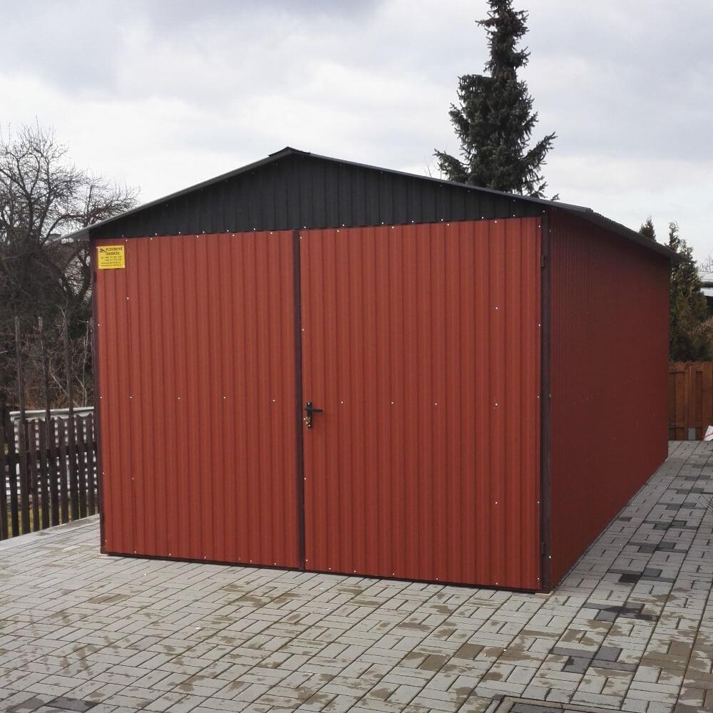 Metaliniai garažai- dvišlaitis