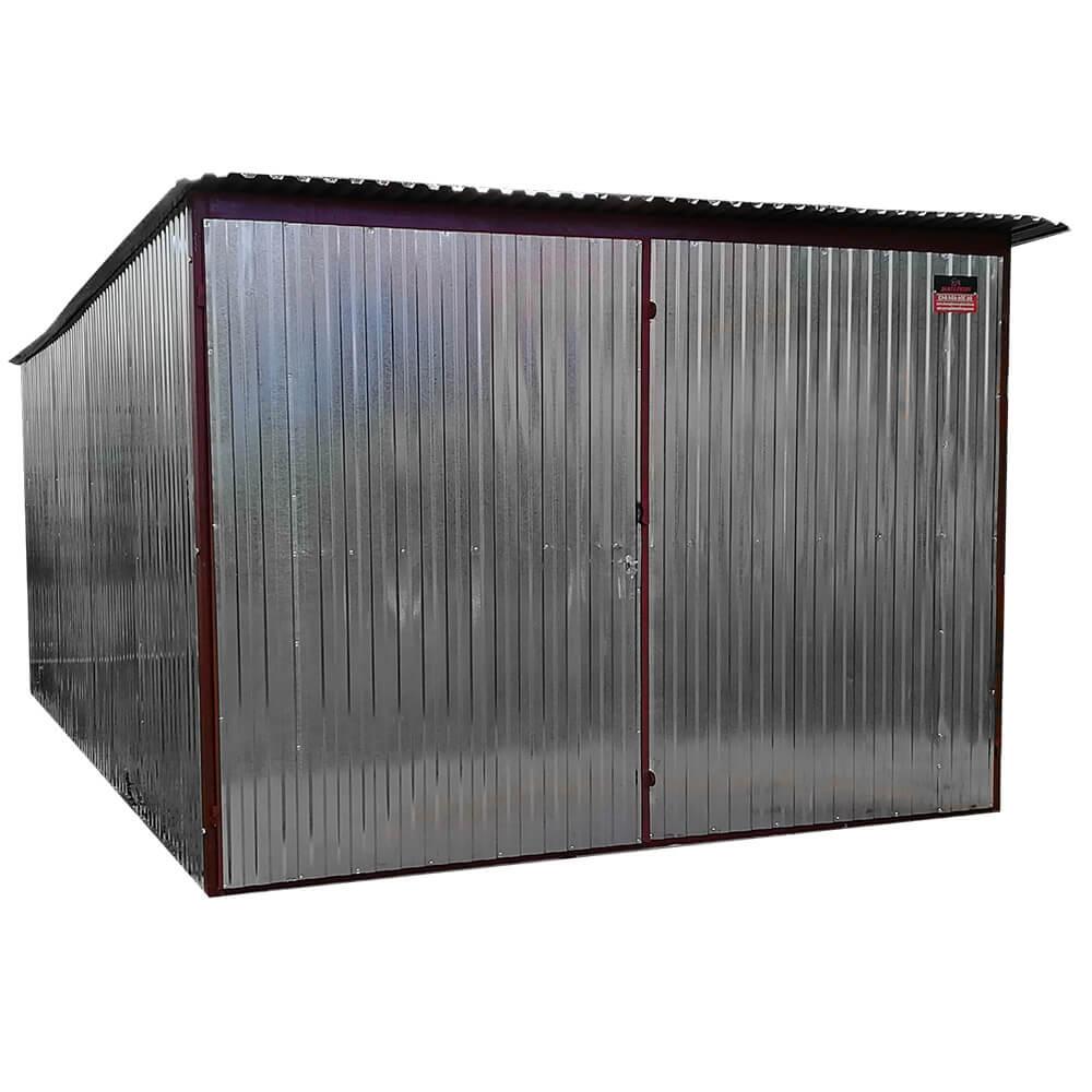 Metaliniai garažai- nuolydis į galą